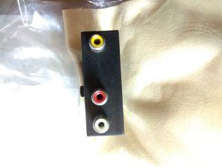 euroconector to video audio