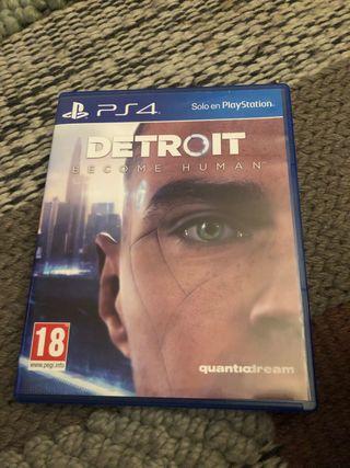 Detroit ps4 playstation
