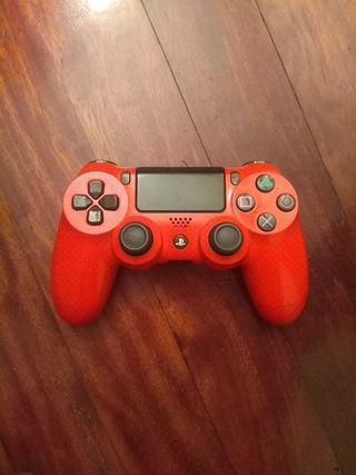 Mando DualShock 4 rojo PS4