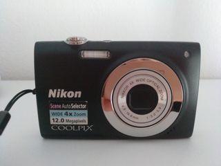 Cámara de fotos digital Nikon Coolpix