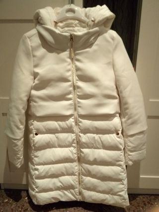 Abrigo blanco mujer Champion