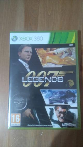 007 Legends para XBOX360