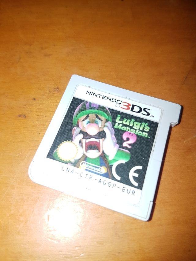 3DS nintendo LUIGI MANSION 2