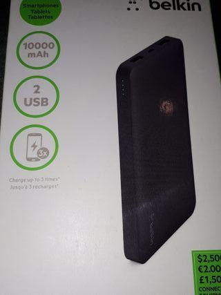 Batería Externa Belkin 10000