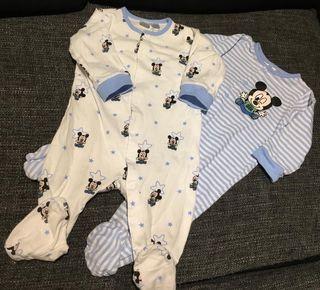 Pack pijamas Mickey 6-9meses