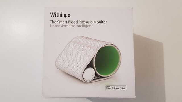 ae405e32332 Tensiómetro Withings |Smart Blood Pressure Monitor de segunda mano ...