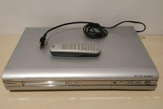 Reproductor grabador Philips DVDR 3305