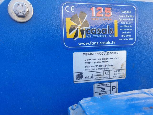 Motor extractor humos quimicos ANTICORROSIVO