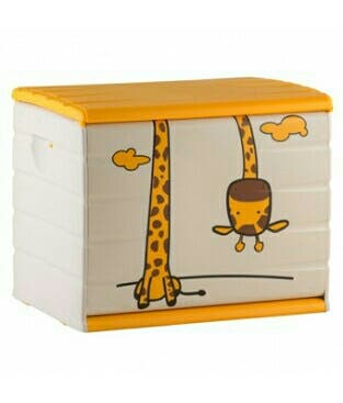 Baul pvc jirafa para niños
