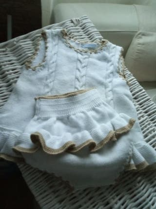 conjunto Cesar Blanco talla 24 meses