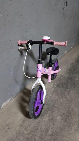 Bicicleta sin pedales Decathlon New Runride Rosa