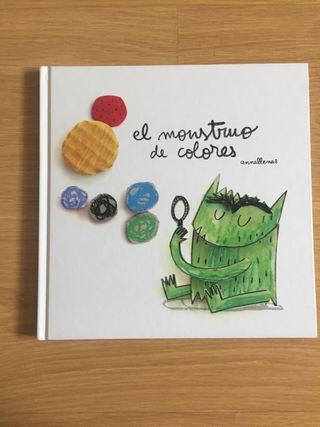 Libros El monstruo de colores de segunda mano en WALLAPOP