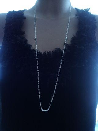 e27fc4a69f52 Collar de plata mujer de segunda mano en la provincia de Tarragona ...