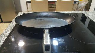 Paella grande inducción