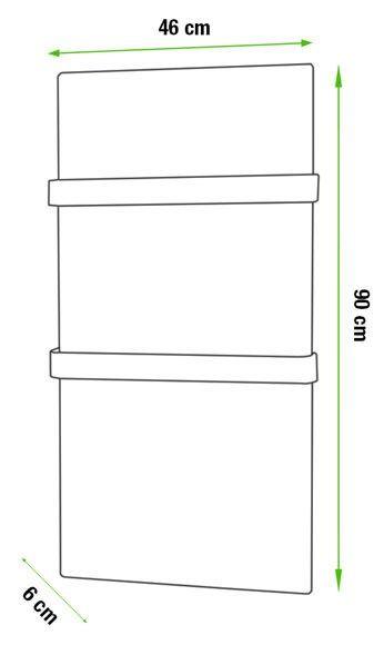 Radiador Toallero decorativo eléctrico