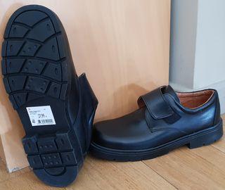 zapato escolar piel