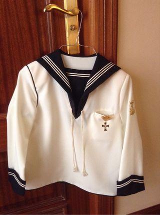 Traje comunion marinero T 10 años
