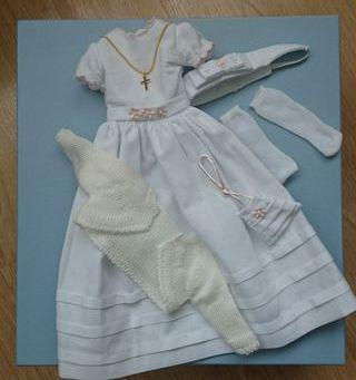 Vestido primera comunión Muñeca Nan