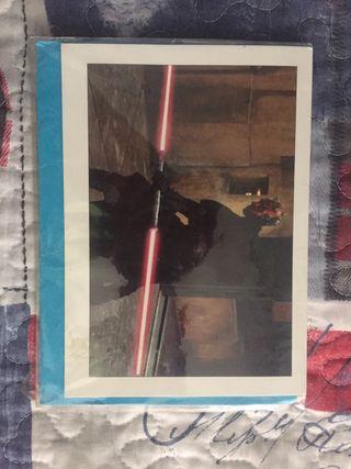 Star Wars postal episodio I