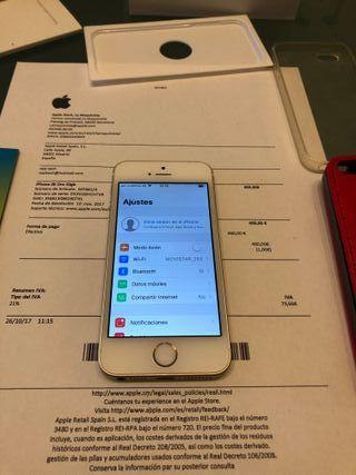 Iphone SE 32gb Gold LIBRE con factura