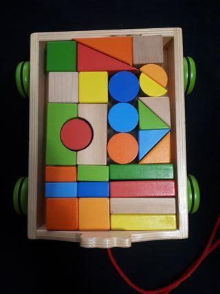 Puzzle-Construcciones de madera