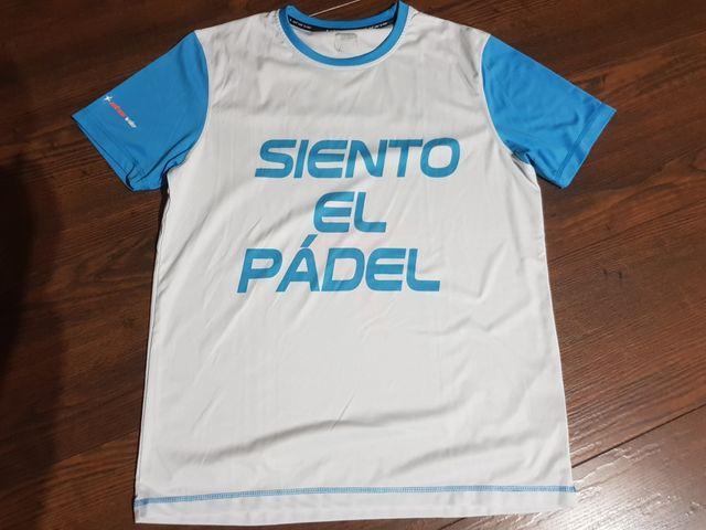 Pack 3 camisetas padel Star Vie tallas M y L