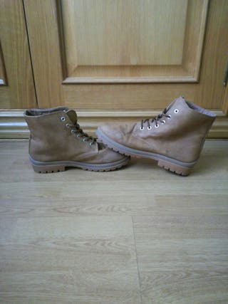 botas marrones chica