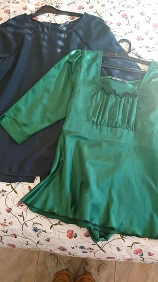 Lote blusas T/L chica mujer