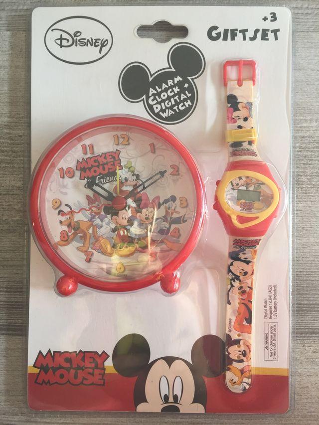 lo último 6c706 c936d Set infantil relojes Mickey Mouse de segunda mano por 9 € en ...