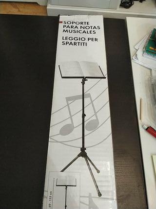 Atril para notas musicales