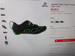 Zapatillas ciclismo de carretera Spiuk
