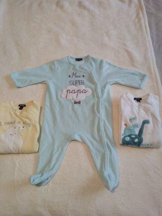 Lote pijamas talla 6 meses