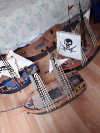 Lote barcos Playmobil