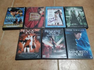 7 dvd's originales