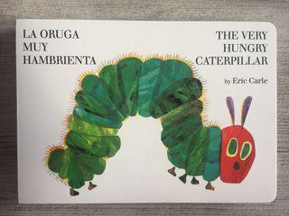 """Libro infantil""""La oruga muy hambrienta"""" Eric Carle"""