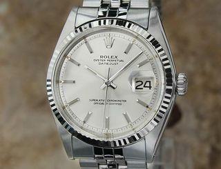 Rolex 1601 Rare Automatique Hommes 36mm Montre 197