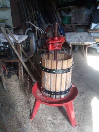 prensa vino