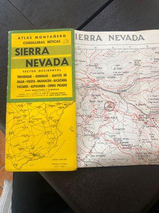 Mapa topográfico 1965