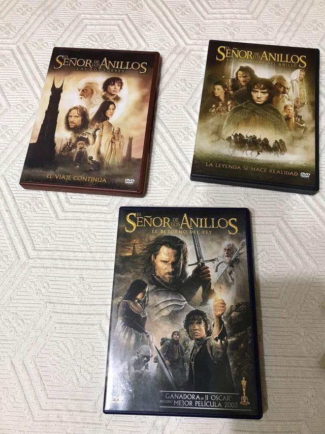 El señor de los anillos Trilogia DvD con Extras