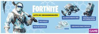 Fortnite: Lote de Criogenización