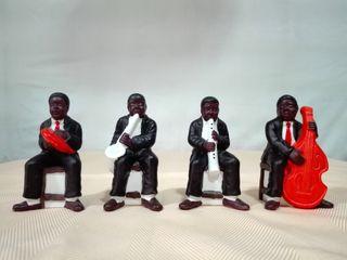 BANDA DE JAZZ de porcelana