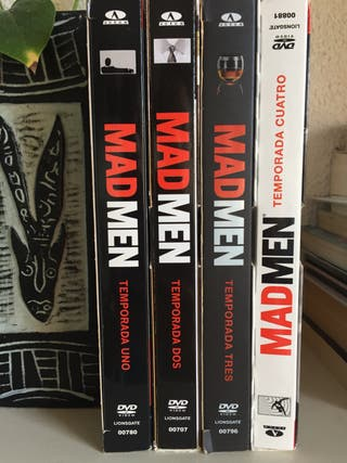 Mad Men DVDs 4 temporadas