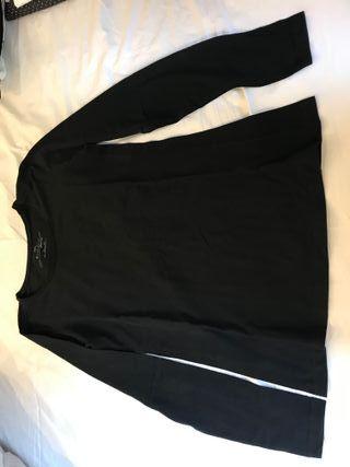 cebeee72beb ... segunda mano en Barcelona. Camiseta de embarazada manga larga negra  talla S