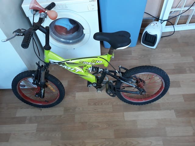 bici niño 16 pulgadas