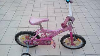 bicicleta niña Barbie