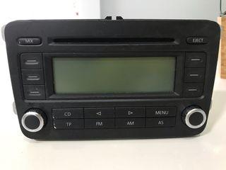 Equipo audio VW Golf 5 rcd300
