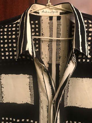 Camisa diseñador Andrés García- viscosa