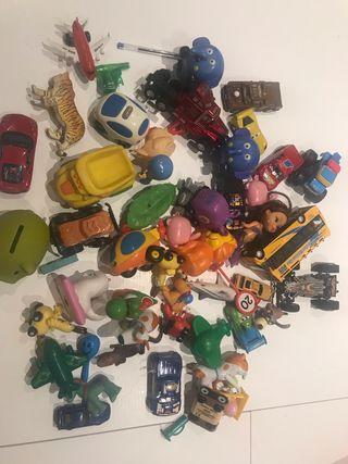 Lote de juguetes para niños y niñas