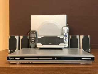 Home Cinema Wireless AIRIS 5.1 + reproductor DVD