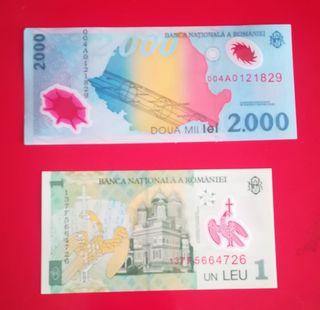 Billetes de Rumanía
